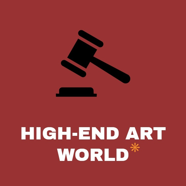 high end art world