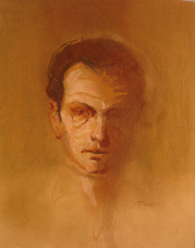 Self Portrait  -  Maurice Sapiro