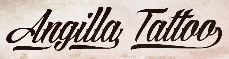 This Script Based Tattoo Font Gives A Fun Taste Of Biker Culture But Without Being Too Literal