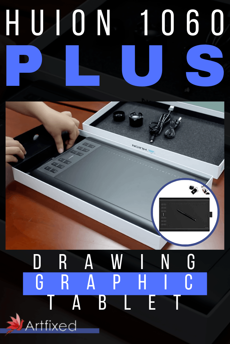 If you are interested in having a graphic drawing tablet that has great built in technology, but at the fraction of the price of other tablets, then check out the Huion new 1060 Plus review we've put together. In this Huion 1060 plus review, you will learn about the features that make the 1060 a graphic tablet that is just as good, if not better, than more expensive graphic tablets on the market today. You will also learn what makes the Huion new 1060 Plus graphic drawing tablet different from other tablets today. #Huion1060Plus #drawing #graphic #tablet #art #artist #sketch #illustratio #graphicdesign #tech #sketchbook #graphics