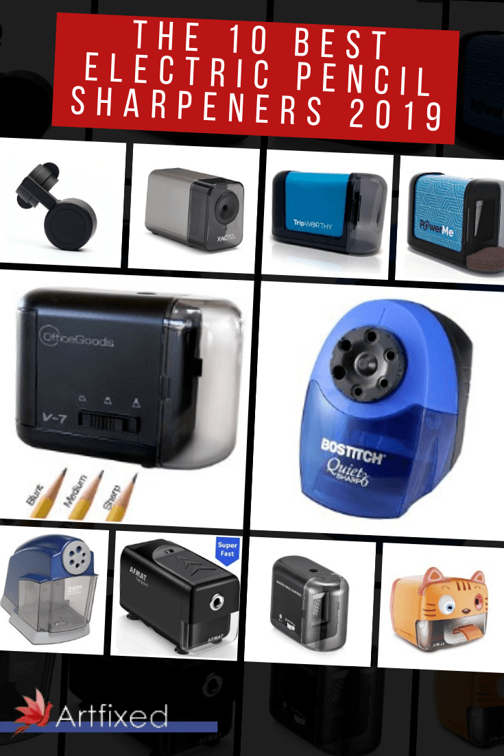 An electric pencil sharpener can save you heaps of time, keep your space tidy, and provide you with the perfect pencil point every single time. In this article, we'll show you how to choose the best electric pencil sharpener, and we'll collate ten of our favorites that are available to buy right now. #electricpencilsharpener #electricsharpener #pencilsharpener #pencil #sketch #paper #drawing #sketchbook #traditional #traditionalart #art #review #oldschool #minimalist