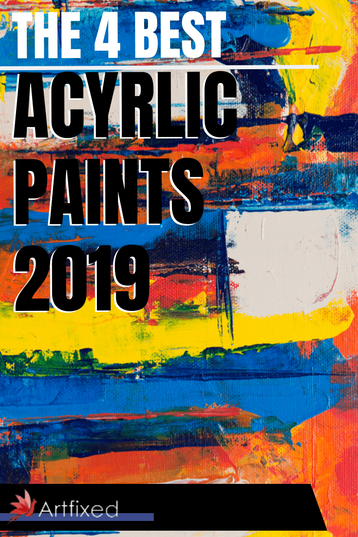 There is no right or wrong brand, right or wrong grade. You are only limited by your imagination. You will have to play around with the different brands to find which ones work best. We have here listed 4 best acrylic paints 2019! #acyrlic #paints #canvas #art #painting #acrylicpainting #paint #artwork #painter #acrylics #acrylicsoncanvas