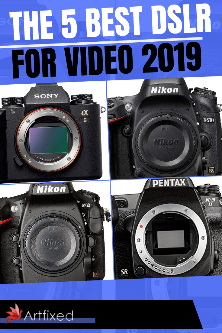 Here are the 5 best DSLR for video 2019! #dslr #video #photography #music #canon #pentax #nikon #photooftheday #art #portrait #dslrphotography #photo #artist #camera #explore #film #picoftheday #canonphotography #photoshoot #videography