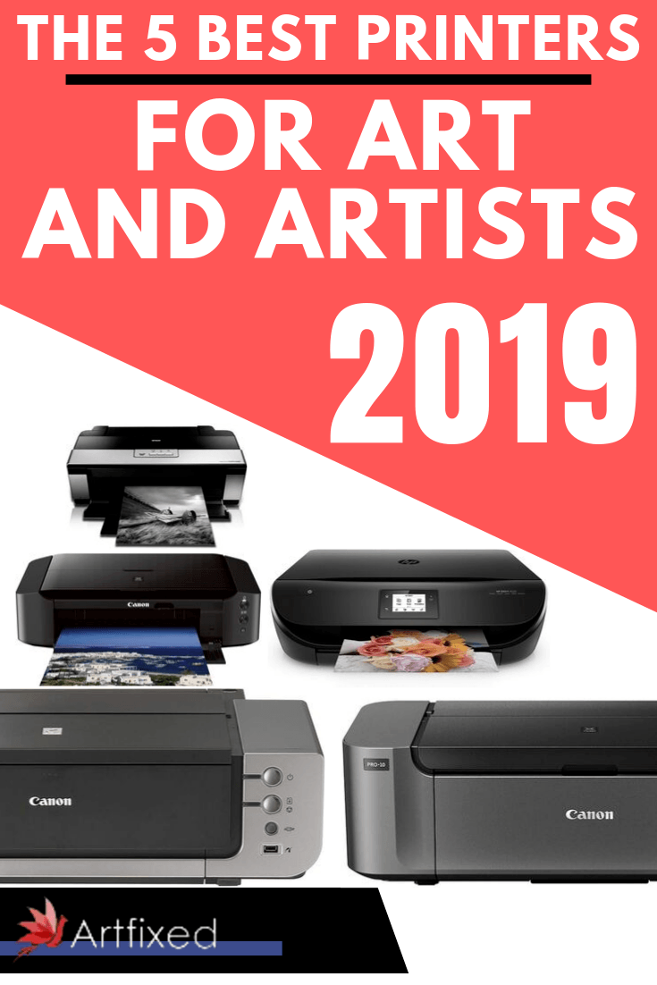 With so many models on the market, it's important to work out your exact requirements so you can choose the printer (even a 3D printer) that's perfect for your own specific requirements. Check out this list for the best printers for art and artists! #printers #art #artists #graphicdesign #photography #graphics #graphic #photographytips