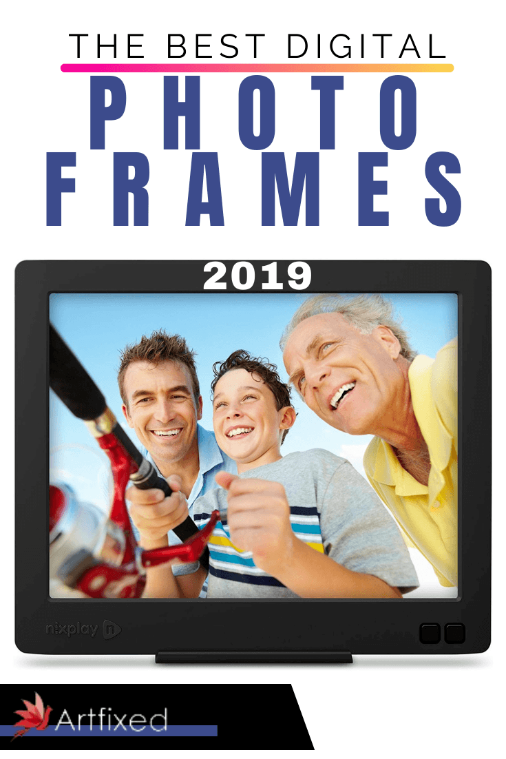 If you haven't encountered a digital photo frame recently, you may have some conflicting feelings. Partly, there was that magical moment of the first time you saw one like something ripped straight from Harry Potter. The pictures can change and move! #digital #photo #frames #art
