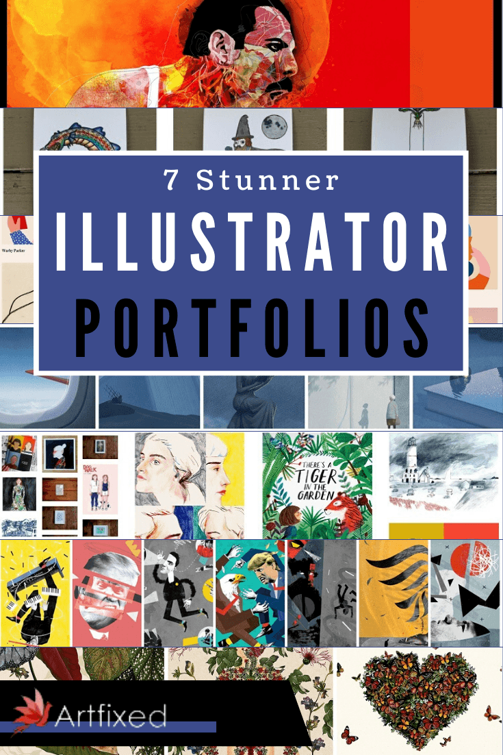 If you're an illustrator, a portfolio is incredibly important. It's your calling card to the world, showing who you are and what you do. If you want to increase your chances of getting commissions or selling your existing work, you need to get your art online. #illustrator #portfolios #graphicdesign