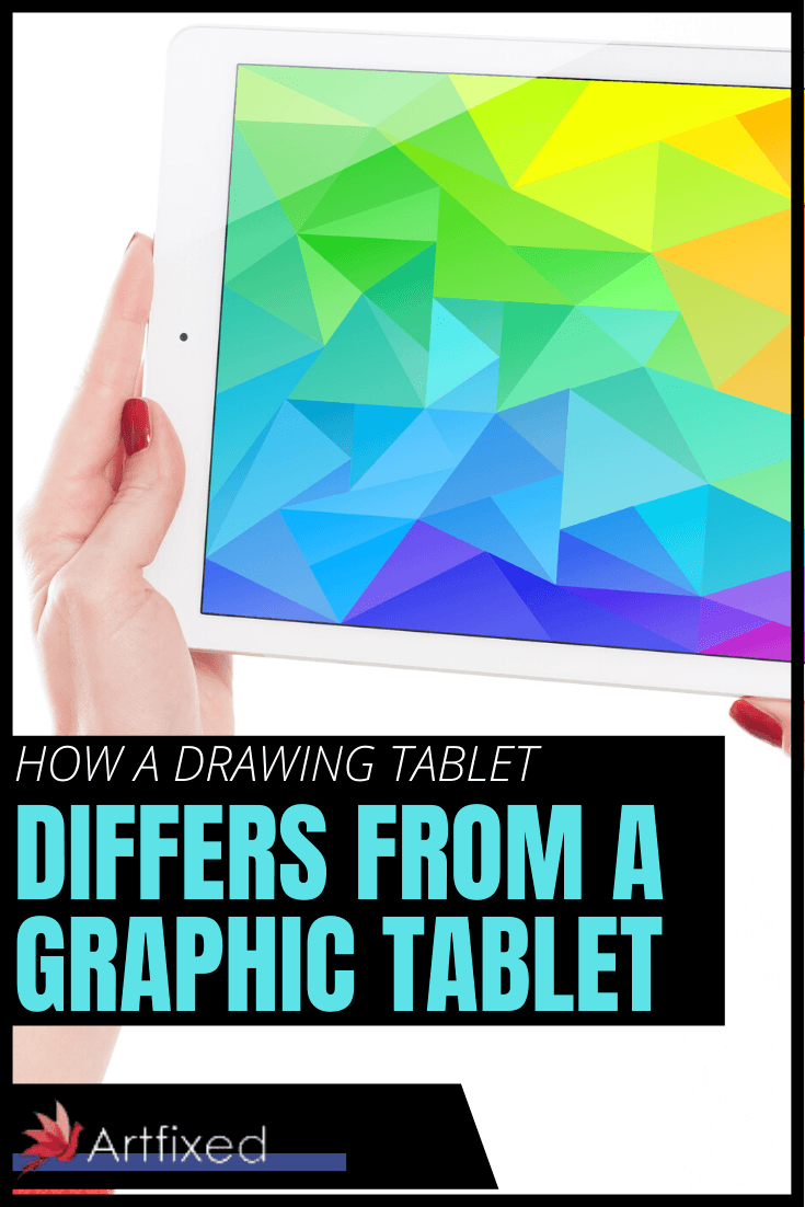 The main difference between a tablet PC and a graphic tablet is apparent in the fact that Tablet PCs have screens you can draw on. While graphic tablets do not and further require a computer to run with but there are a few more details that you should know about as well. This article will discuss these differences. #drawing #tablet #graphic #art