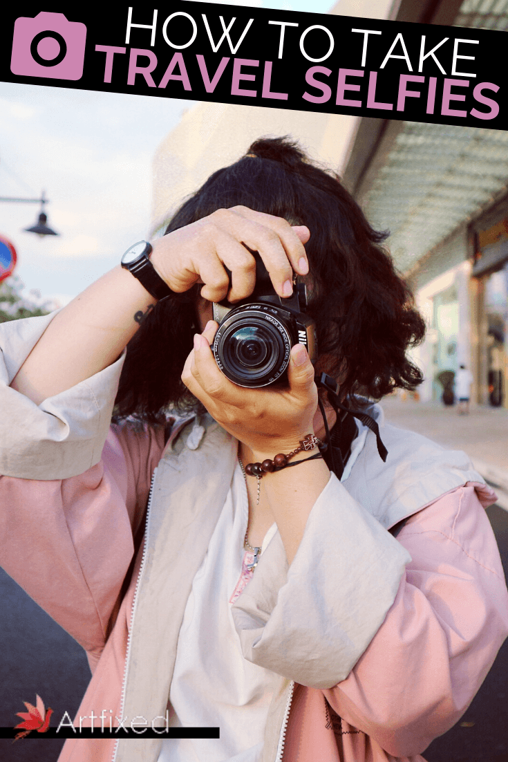 One of the first questions that people ask when they're traveling solo, is how to take the perfect travel selfie. When there's nobody around to snap a shot of you, how do you capture that moment in a way that you'll be able to look back on for years to come? #travel #selfies #photography #selfie #travelphotography