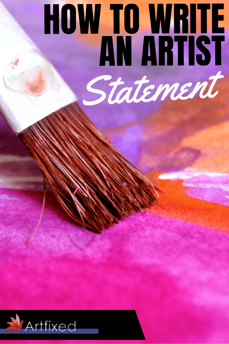 Your artist statement (or artist's statement) is a written description of the work that you do. The aim is to represent and support your work as an artist, to give your audience a better understanding of what inspires your art and what you hope to convey with it. You will submit it alongside your portfolio when you enter competitions and contact galleries and museums. Your statement will also be displayed alongside your work online and in the real world. #artist #statement #art