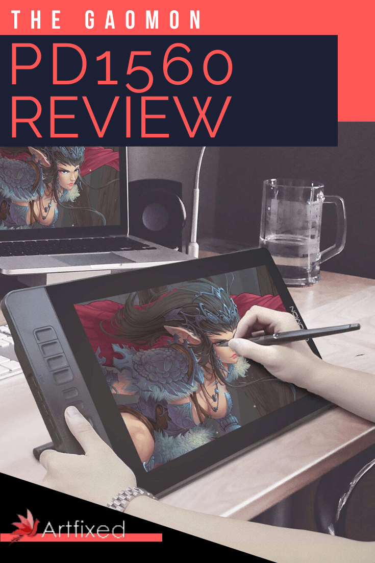 I've done illustration work for about two years using an entry level Huion H610 Pro graphic tablet. But when presented with a vivid 15.6 inch LCD screen where I could directly draw onto, do you think I squealed like a little girl out of excitement? You bet I did. #gaomon #review #graphic #artist #digitalart