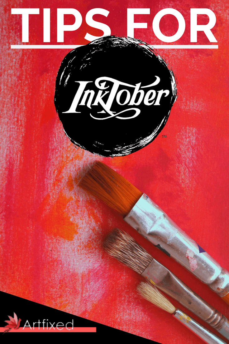 Inktober began life in 2009 when Jake Parker set himself the task of improving his inking and to get into the habit of drawing every day. Since then, October's event has grown into a worldwide phenomenon and thousands of artists participate in the challenge to create 31 drawings in 31 days. #inktober #ink #draw #art #drawing