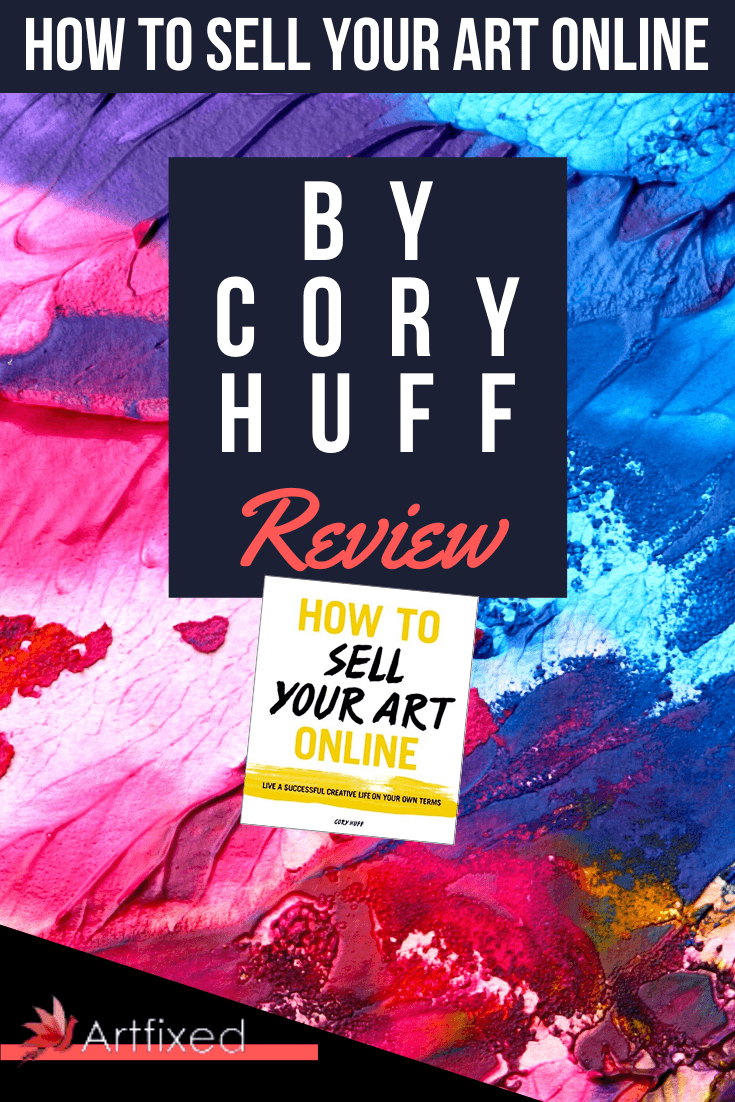 "I was browsing Amazon on what books to spend my monthly book allowance and I stumbled upon Cory Huff's ""How to Sell Your Art Online: Live a Successful Creative Life on Your Own Terms. I had seen it on Amazon a couple of times but I didn't think much of it. I didn't think it could suprise me, so I hold off on it. #art #online #sell"